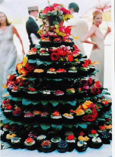 Cupcake Wedding Cake Since then every baker worth their sugar has started