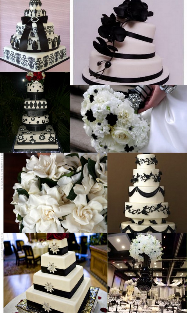Black & White Wedding Details