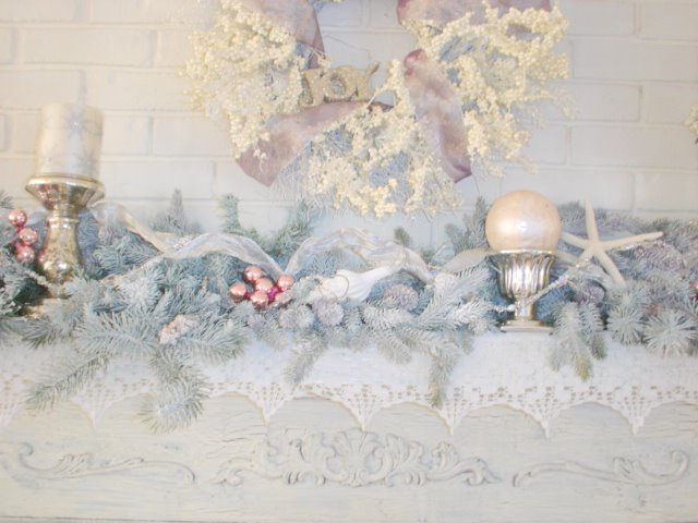 mantel How To Save On Your Winter Wedding Décor