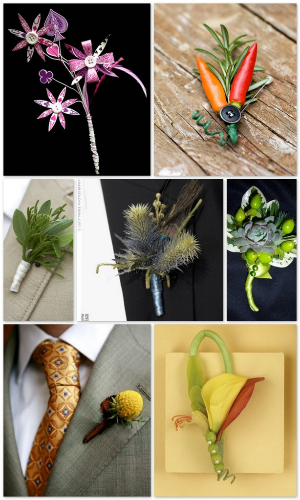 Masculine Boutonnieres