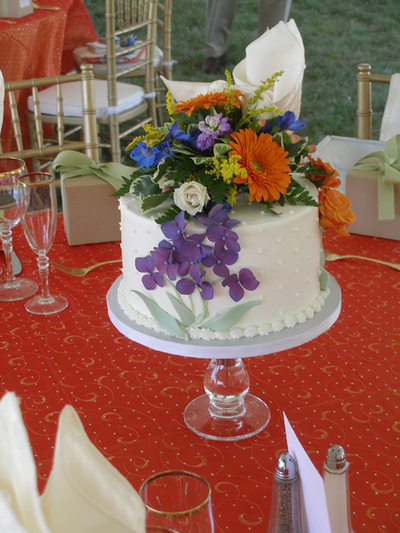Chic Wedding Blog » Blog Archive » Budget Savings with Wedding Cakes