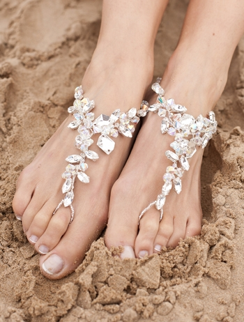 foot jewlery for beach wedding