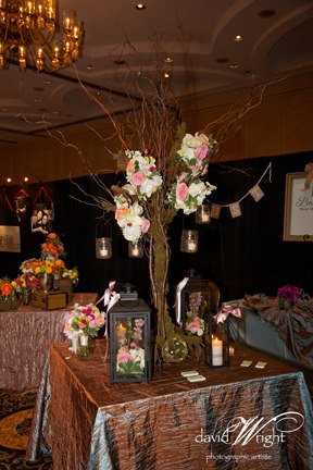 BOE show booth Lanterns. Not Just for Candles Anymore!